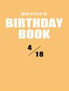 運命がわかるBIRTHDAY BOOK  4月18日