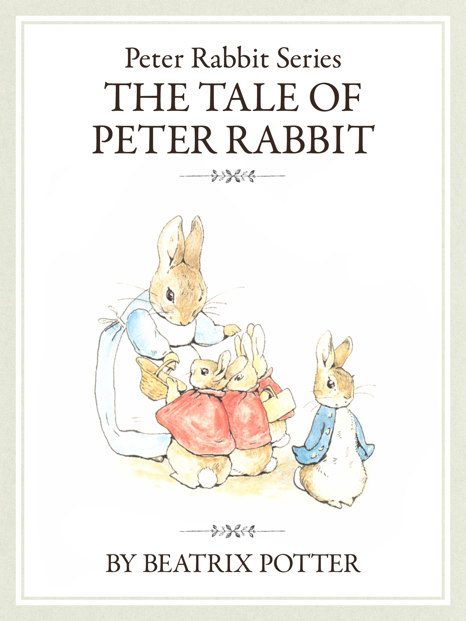 ザ ピーターラビットシリーズ1 THE TALE OF PETER RABBIT