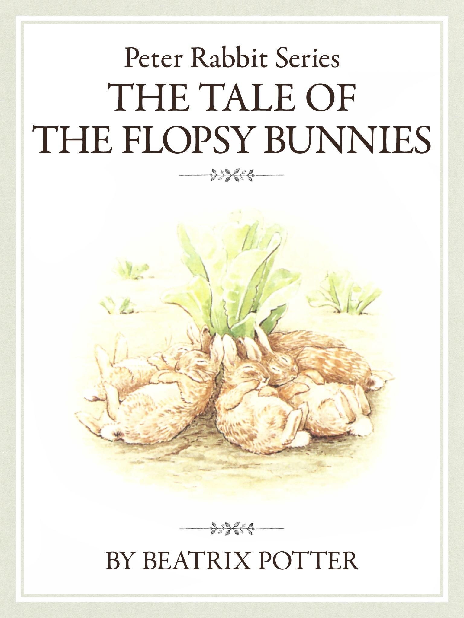 ザ ピーターラビットシリーズ3 THE TALE OF THE FLOPSY BUNNIES