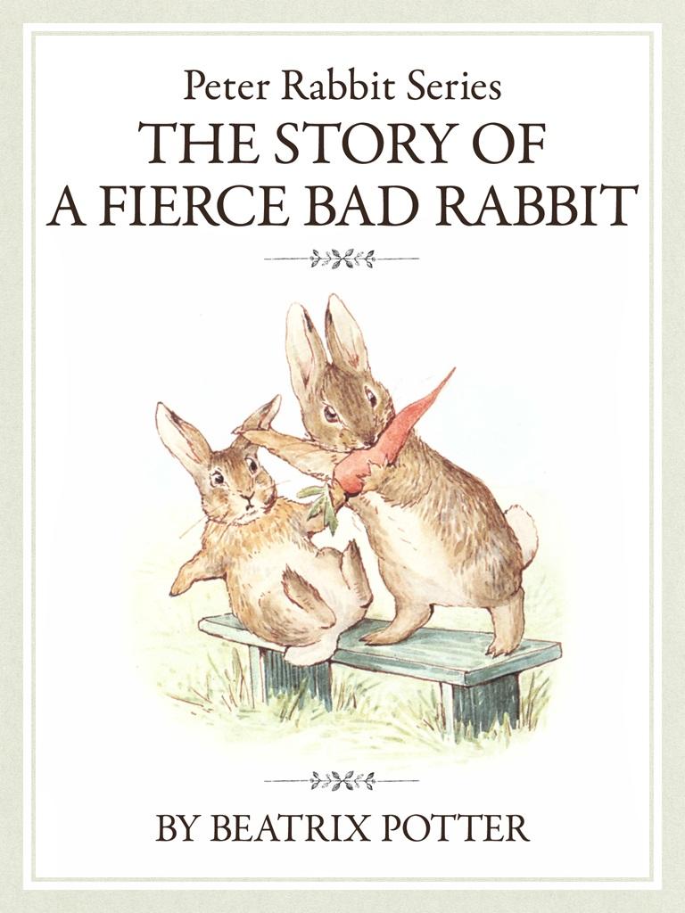 ザ ピーターラビットシリーズ6 THE STORY OF A FIERCE BAD RABBIT