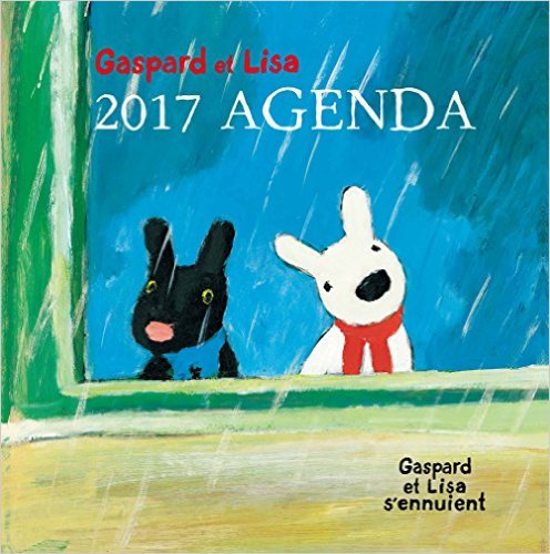 Gaspard et Lisa 2017 AGENDA Gaspard et Lisa s'ennuient