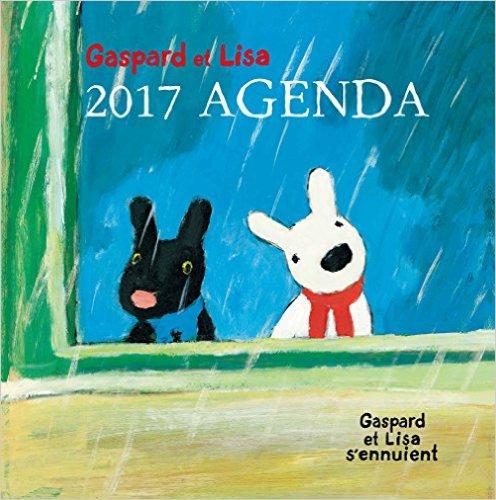 Gaspard et Lisa 2017 AGENDA Gaspard et Lisa s'ennuientリサとガスパール 2017ダイアリー ([バラエティ])