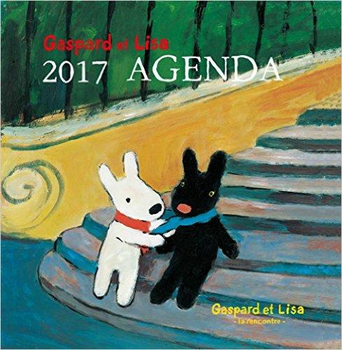 リサとガスパール Gaspard et Lisa-la rencontre- 2017ダイアリー